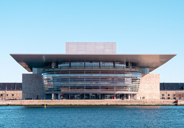 One of the best Copenhagen bucket list experiences is visiting the Copenhagen opera house, one of the most modern opera houses in the world