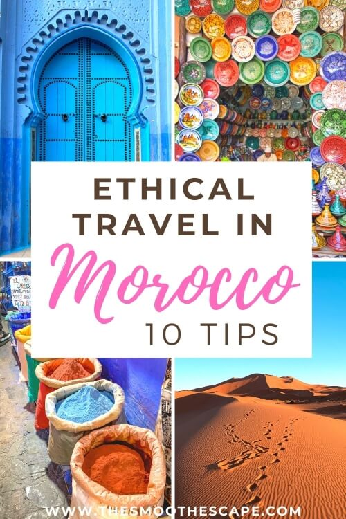 an article about responsible travel in Morocco