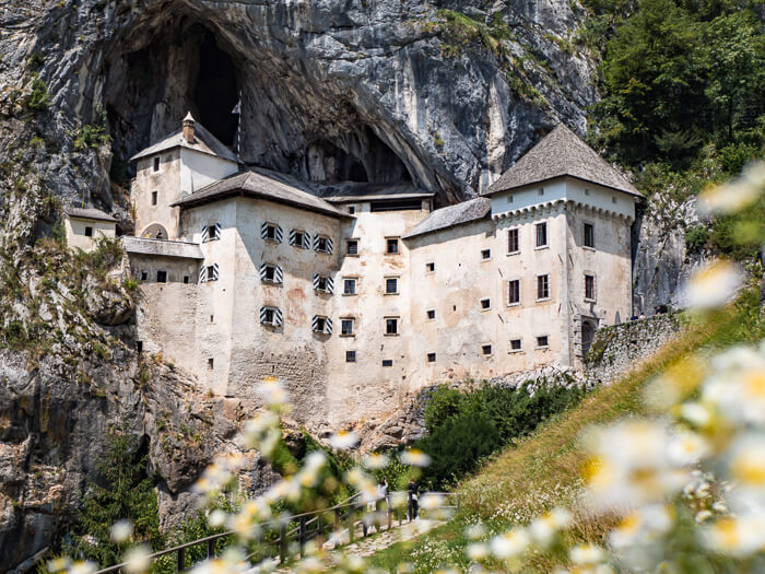 Renaissance style Predjama Castle built in the mouth of a huge cave is among the best things to see in Slovenia